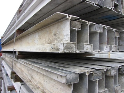 National Forming Co 6 1 2 Quot Aluminum Beams Used